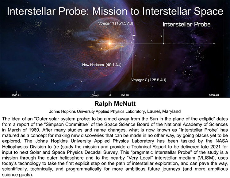 Interstellar Probe: Mission to Interstellar Space